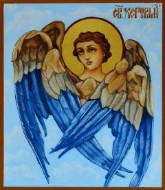 Рукописная икона Херувим