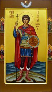 Мерная икона Георгий Победоносец 2