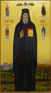 Мерная икона Савва Новый Иеромонах