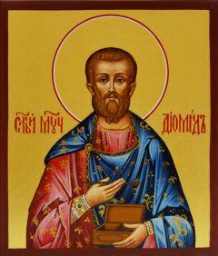 Рукописная икона Диомид 2