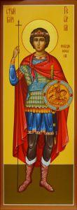 Мерная икона Георгий Победоносец 3