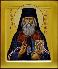 Рукописная икона Игнатий Брянчанинов 2