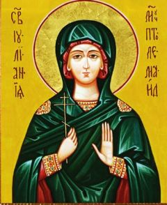 Рукописная икона Иулиания Птолемаидская