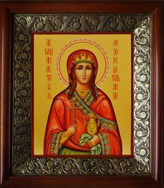 Рукописная икона Анастасия Узорешительница 2 (Размер 13*16 см)