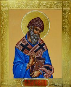 Рукописная икона Святитель Спиридон Тримифунтский 4