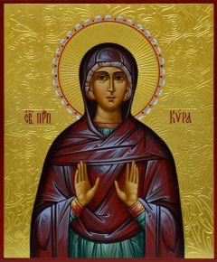 Рукописная икона Кира Берийская 2