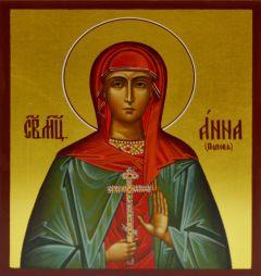 Рукописная икона Анна Попова
