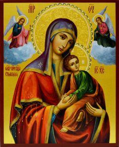 Рукописная икона Страстная 2
