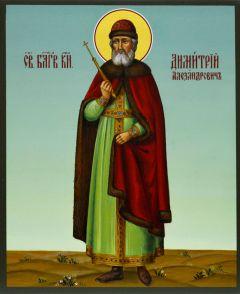 Рукописная икона Димитрий Александрович