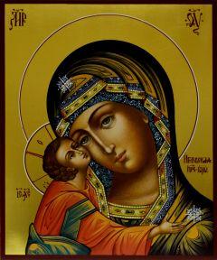 Рукописная икона Игоревская