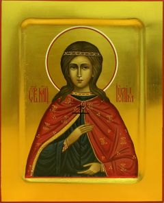Рукописная икона Иулия Карфагенская