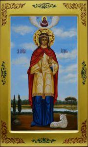 Мерная икона Агния мученица 2