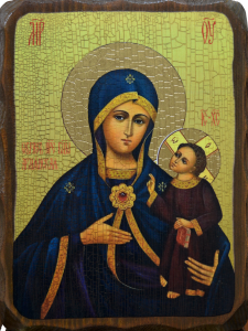 Икона состаренная Армянская