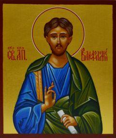 Рукописная икона Апостол Варфоломей