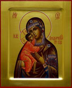 Рукописная икона Феодоровская 4