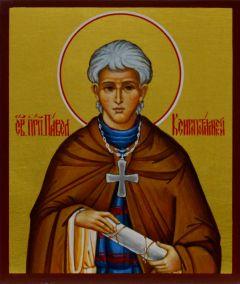 Рукописная икона Павел Ксиропотамский