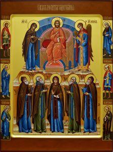 Рукописная икона Молитва Задержания
