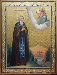 Рукописная икона Михаил Малеин 2