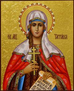 Рукописная икона Татьяна (Татиана) Римская