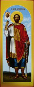 Мерная икона Александр Невский 2