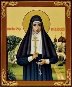 Рукописная икона Елизавета (Елисавета) Федоровна 3 (Размер 17*21 см)