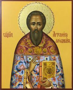 Рукописная икона Артемон Лаодикийский