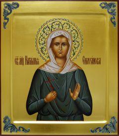 Рукописная икона Наталия Силуанова 2
