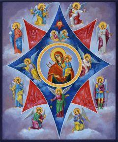 иконы Неопалимая купина Богородицы