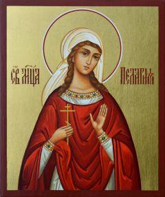 Рукописная икона Пелагея (Пелагия) Тарсийская
