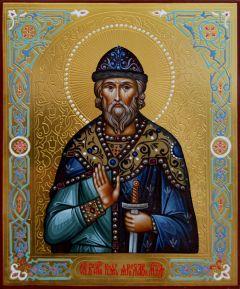 Рукописная икона Ярослав Мудрый 4