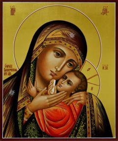 Рукописная икона Касперовская