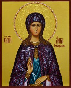Рукописная икона Анна Персидская