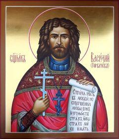 Рукописная икона Василий Горбачев