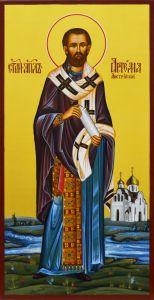 Рукописная икона Артема Листрийский