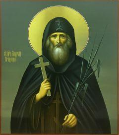 Рукописная икона Андрей Критский 3