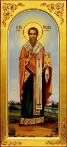 Мерная икона Иродион (Родион) Патрасский масло