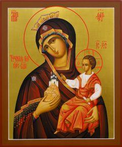 Рукописная икона Тучная Гора