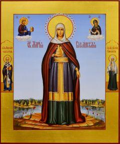 Рукописная икона Мария Вифанская