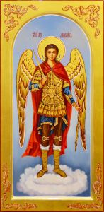 Мерная икона Архангел Михаил масло
