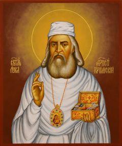 Рукописная икона Лука Крымский 5