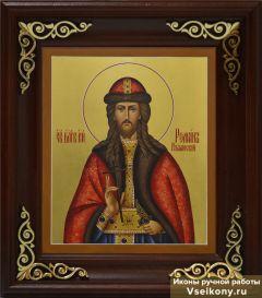Рукописная икона Роман Рязанский 2