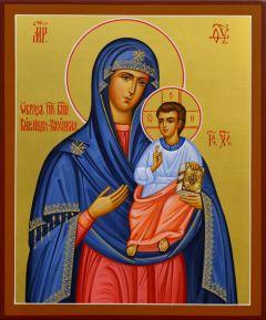 Рукописная икона Богородицы Винницко-Рожецкая