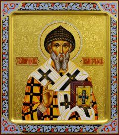 Рукописная икона Спиридон Тримифунтский 12