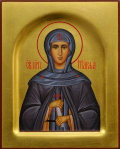 Рукописная икона Марфа Дивеевская