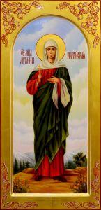 Мерная икона Антонина Никейская масло 2
