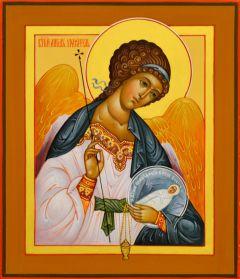 Рукописная икона Ангел с Душой 40