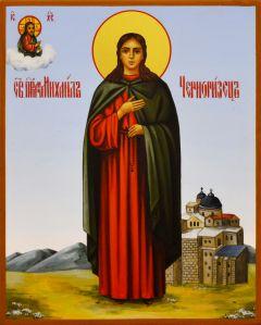 Рукописная икона Михаил Черноризец