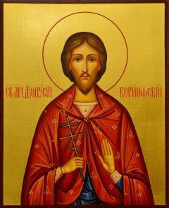 Рукописная икона Дионисий Коринфский