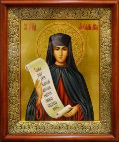 Рукописная икона Аполлинария Египетская