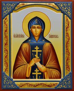Рукописная икона Анна Кашинская 5 (Размер 17*21 см)
